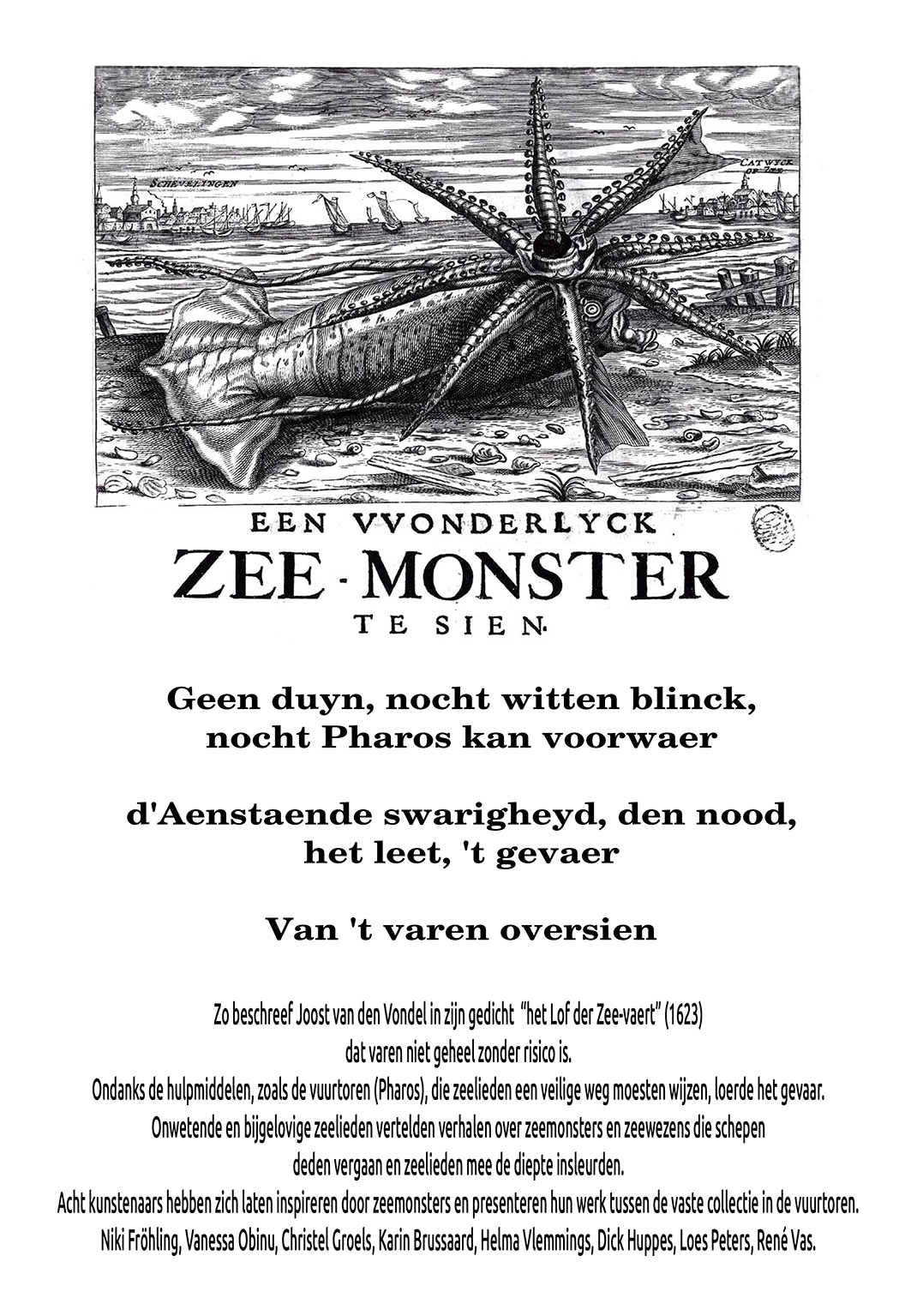 Affiche zeemonsters