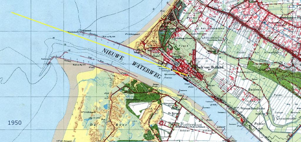 Nieuwe Waterweg 1950