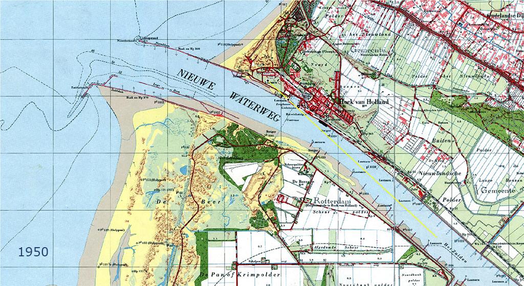 Nieuwe Waterweg 1950 2