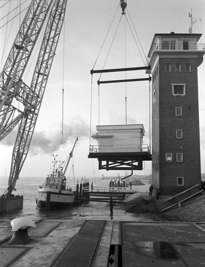 De Berghaven op 9 maart 1973.