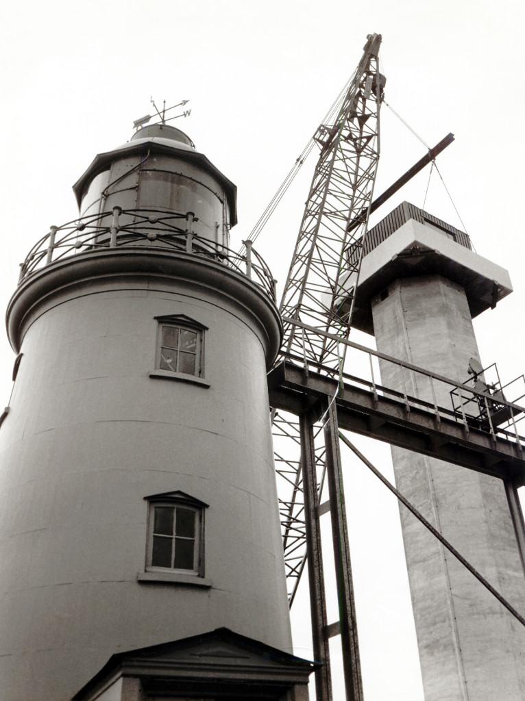 Het oude en het nieuwe lage licht op 13 mei 1974.