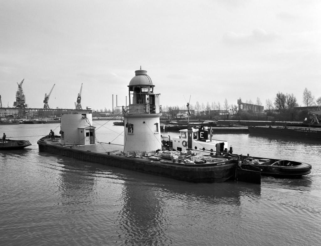 Op weg naar het Maritiem Museum in Rotterdam.
