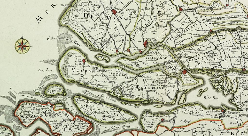 Maasmond 1673, Guillaume Sanson en Hubert Jailot.