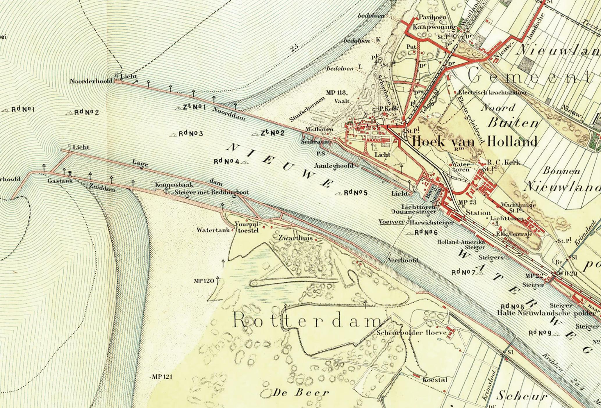 Maasmond 1912.