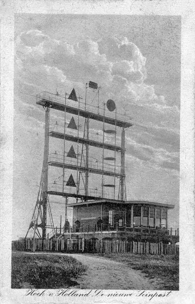 In 1907 is de bouw van een nieuwe semafoor aanbesteed.