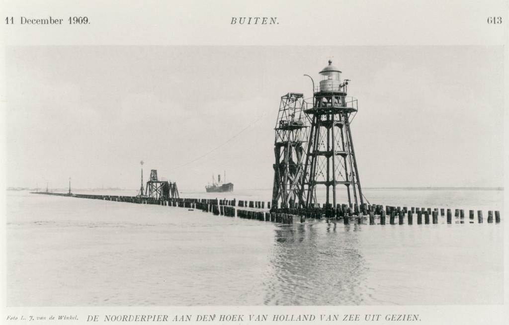 Het Noorderhoofd in 1909
